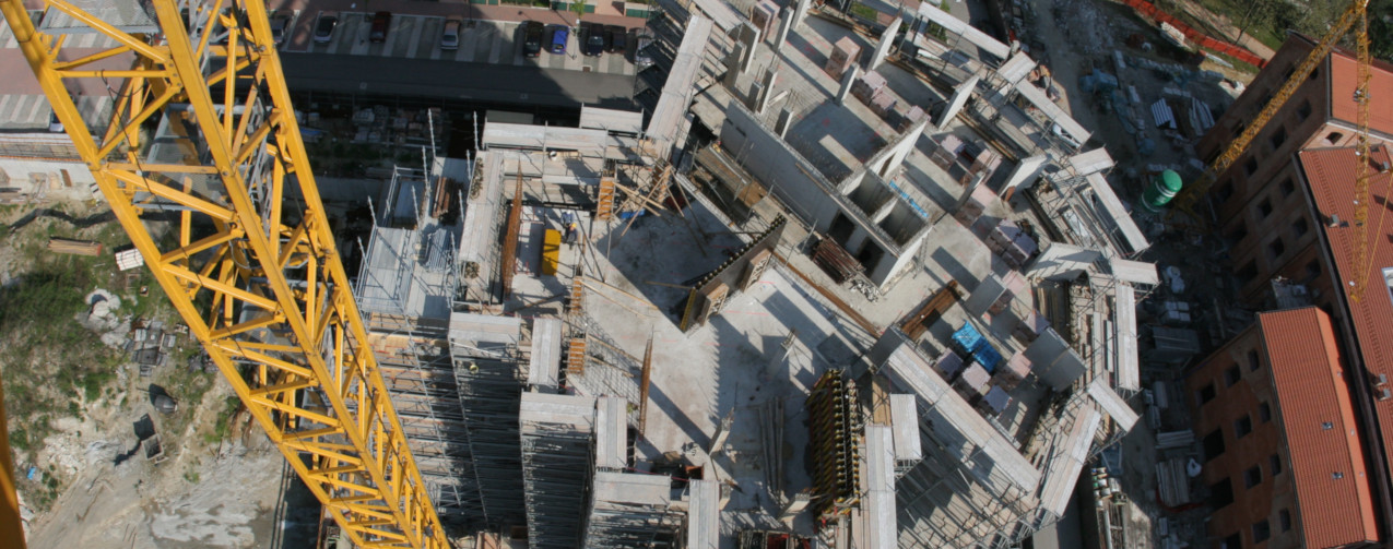 Structural elements for tower crane assembly